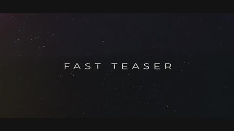 Fast Teaser Premiere Pro Template