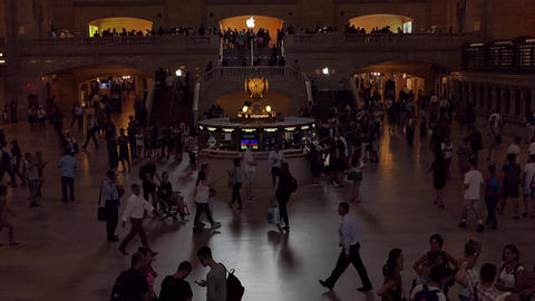 New York Grand Central Live Action