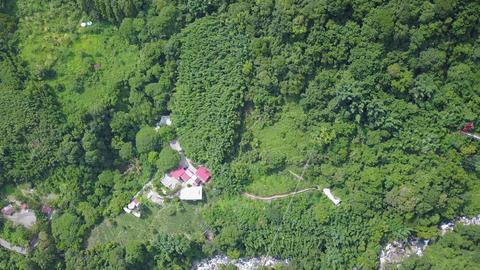 DJI MAVIC 4K Taiwan Aerial Drone Video Nantou TumPu area of Hot Spring 20170813  Footage
