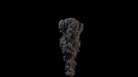 4K Hyperealistic Large Scale Smoke Ver.01 Animation