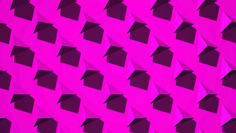 Pink Triangle Abstract CG動画
