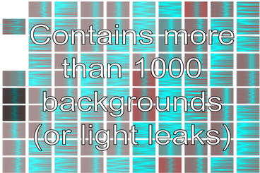 Background and Light Leaks Generator AE Plantilla de After Effects