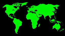 FLOATING WORLD MAP 02 Animation