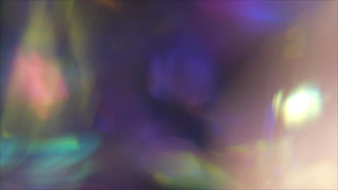 Crazy colorful out of focus backdrop Footage