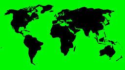 FLOATING WORLD MAP 01slow version Animation