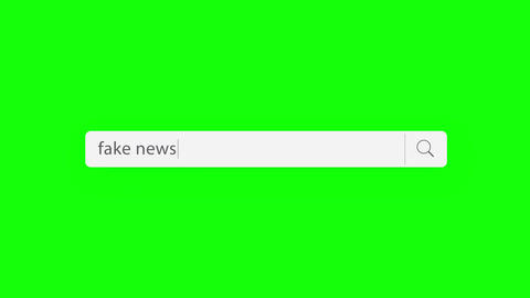 fake news - search query Animation