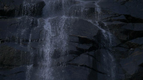 waterfall close up slow motion Footage