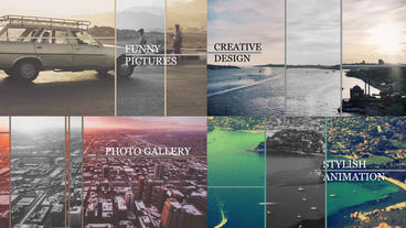 History Slideshow ( 9 Images) After Effects Templates