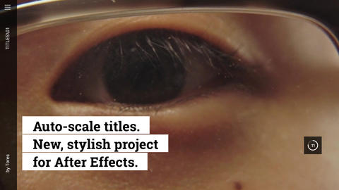 Titles After Effects Template