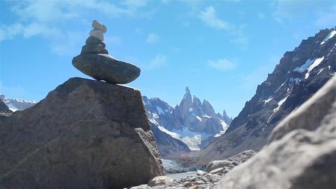 Apacheta on Mount Fitz Roy Image