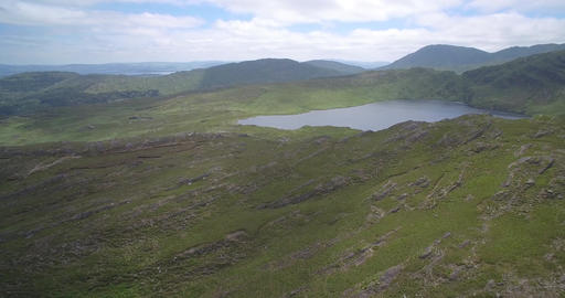 Aerial, Barley Lake, County Cork, Ireland - Native Version Filmmaterial