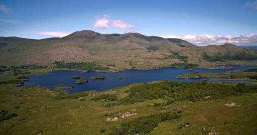 Aerial, Ladies View, County Kerry, Ireland - Graded Version Live Action