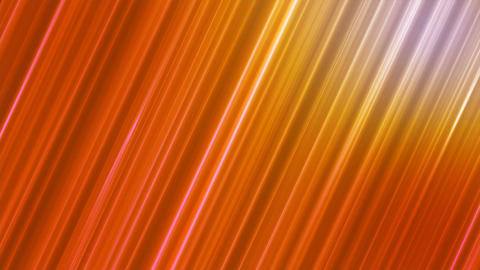 Broadcast Forward Slant Hi-Tech Lines, Orange, Abstract, Loopable, 4K Animation