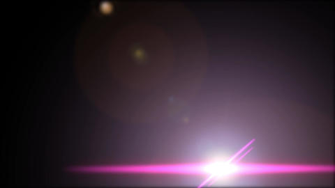 Flares-PINK-down CG動画