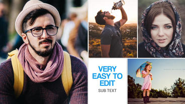 Modern Slide Show After Effects Templates