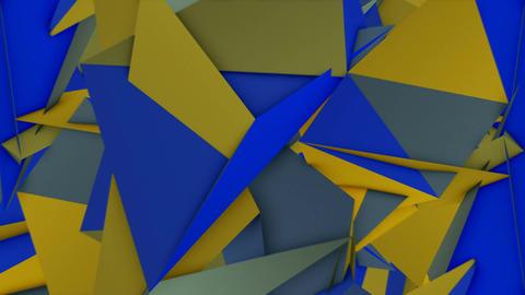 Colored Polygons 4k 02 Vj Loop Animation