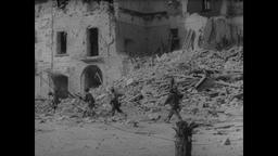 WWII Italy: Urban Combat Nets Captured German Prisoners of War Filmmaterial