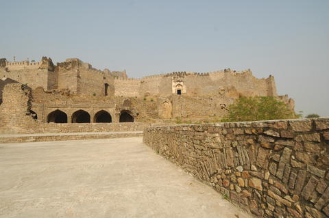 Golconda Fort Hyderabad India フォト