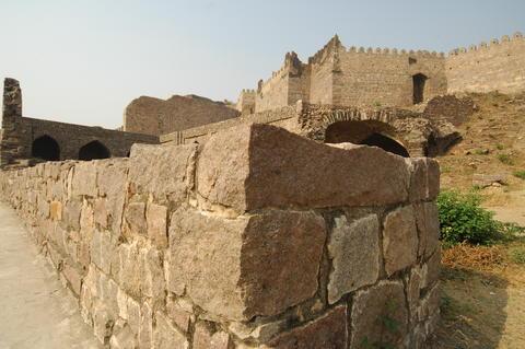 Golconda Fort Hyderabad India フォト