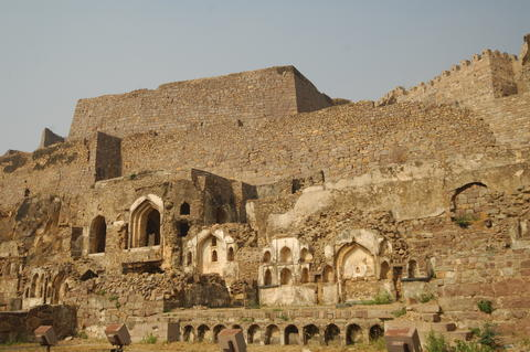 Golconda Fort Hyderabad India Photo