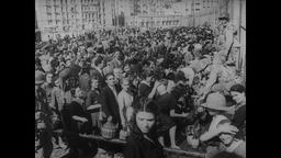 WWII Italy: Naples Suffers Hardship in the Wake of War Footage