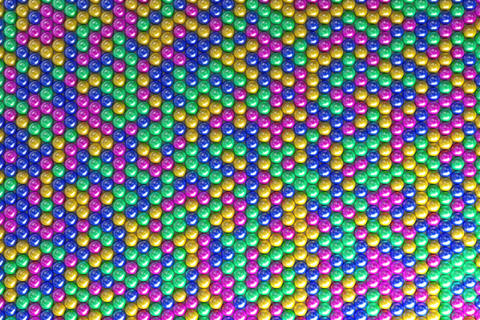 Pattern of coloreful spheres Photo