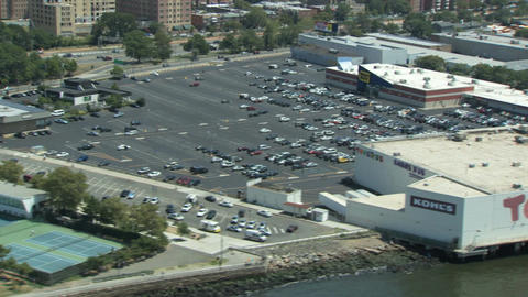 Parking lots and retail stores Footage