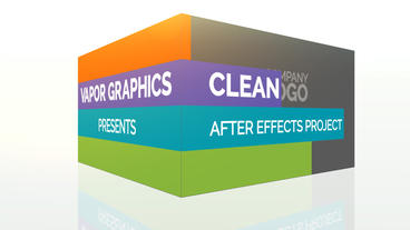 Clean Stripes: After Effects Template After Effects Templates