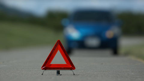 car trouble accident right handle Image