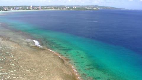 グアム・恋人岬からタモンビーチを望む ライブ動画