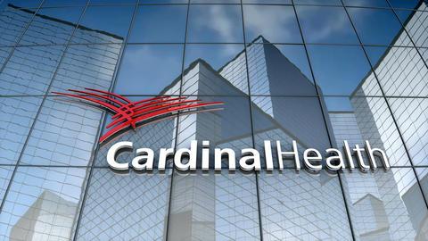 Editorial, Cardinal Health logo on glass building Animation