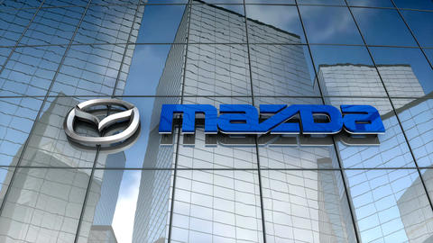 Editorial, Mazda Motor building Animation