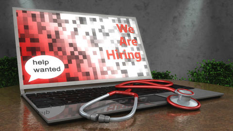 Healthcare hiring Animation