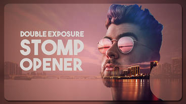 Double Exposure Stomp Opener Premiere Pro Template