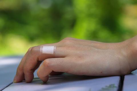 Wound bandage Foto