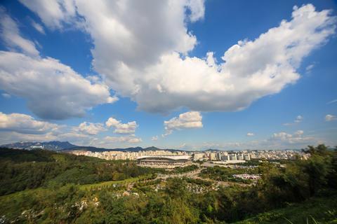 cloud of seoul Fotografía