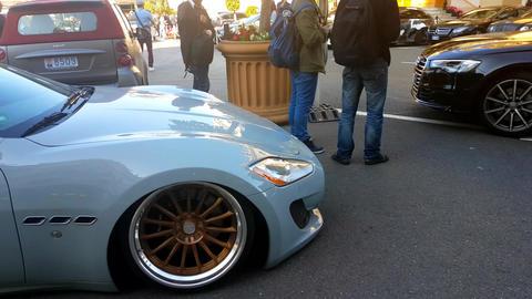 Maserati GranTurismo Tuning Car Footage