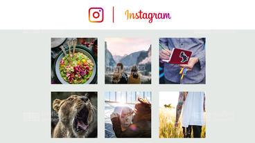 Instagram Promo Premiere Proテンプレート