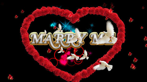 MARRY ME Animation