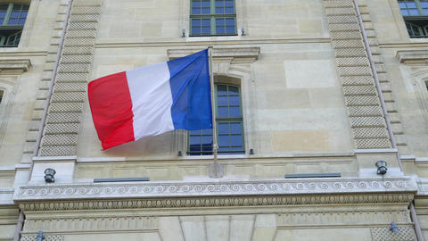 French flag ビデオ