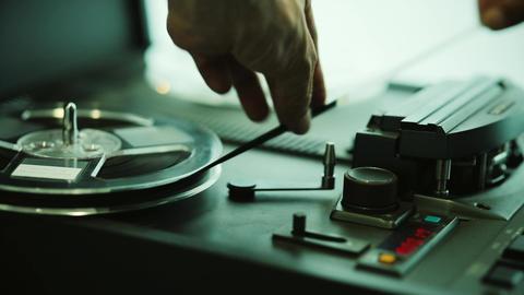 Audio tape recorder Footage