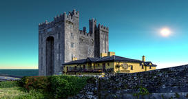 Bunratty Castle Ireland, Special FX Edition, Loopable Version Footage
