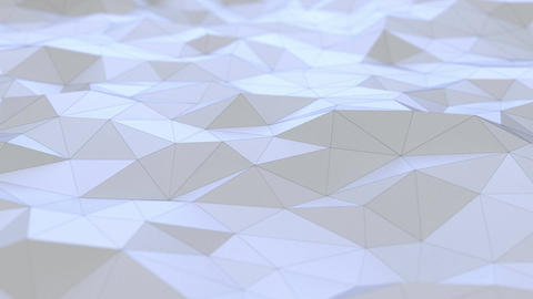 Background abstraction polygons light CG動画素材