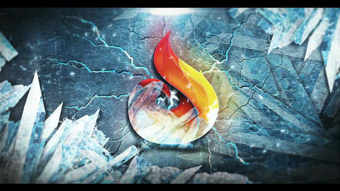 Ice Epic Logo After Effects Template