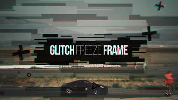 Glitch Freeze Frame Premiere Pro Template
