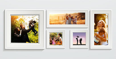 Our Family Frames After Effects Template