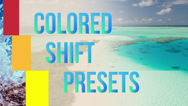Colored Shift Presets Premiere Proテンプレート