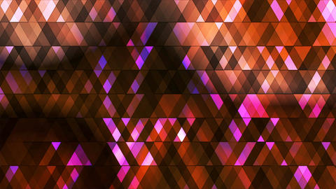 Broadcast Twinkling Hi-Tech Diamonds, Multi Color, Abstract, Loopable, 4K Animation