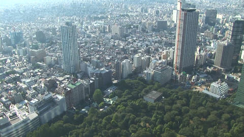 View of Tokyo Stock Video Footage