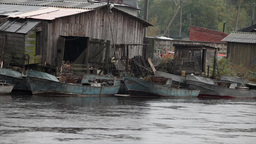 fishing village Stock Video Footage